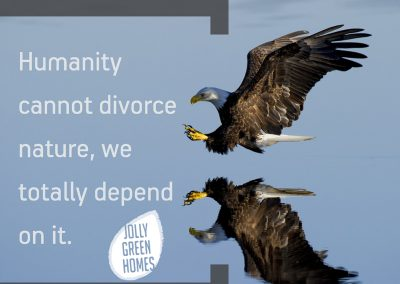 Humanity cannot divorce