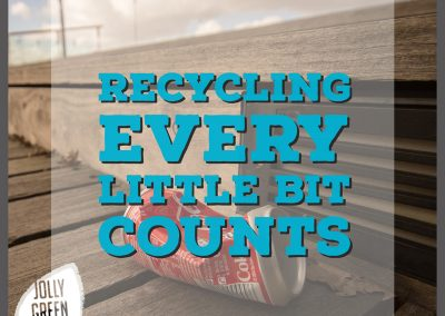 Recycling every little bit